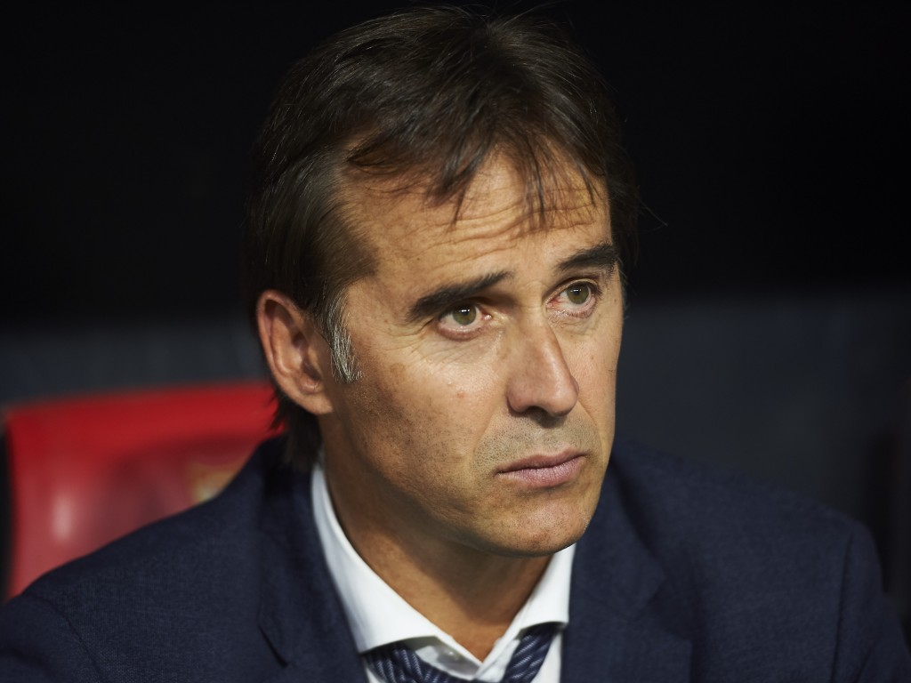The end may be near for Lopetegui. (Photo by Aitor Alcalde/Getty Images)