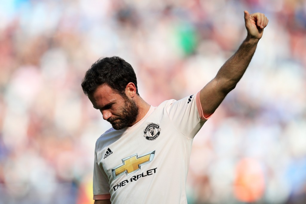 Agent of Juan Mata travels to Barcelona over possible deal