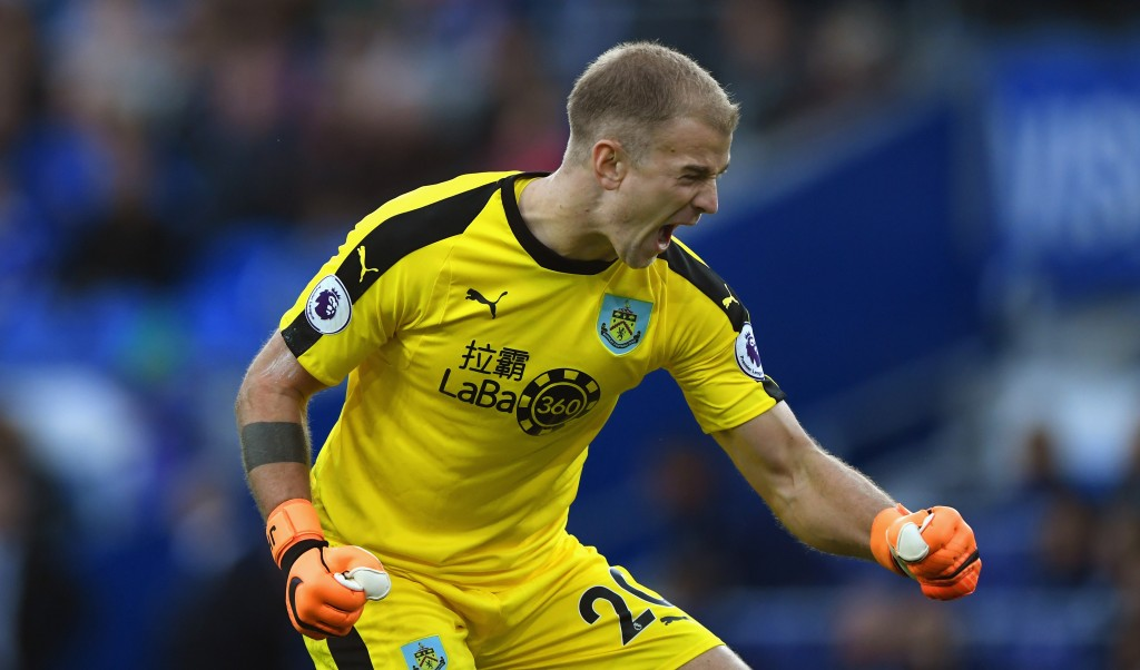 Will Joe Hart celebrate a Burnley win against his former employers? (Photo by Stu Forster/Getty Images)