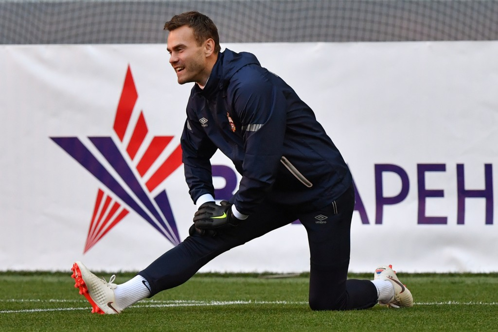 Will Akinfeev inspire CSKA Moscow to a popular victory? (Photo courtesy - Yuri Kadobnov/AFP/Getty Images)