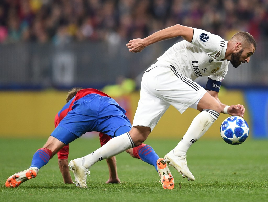 The struggles continued for Benzema. (Photo by Epsilon/Getty Images)