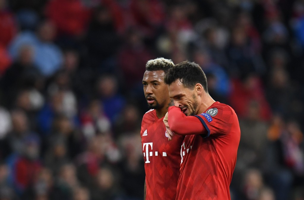 Both Boateng and Hummels are unlikely to feature this week (Photo by Christof Stache / AFP/Getty Images)