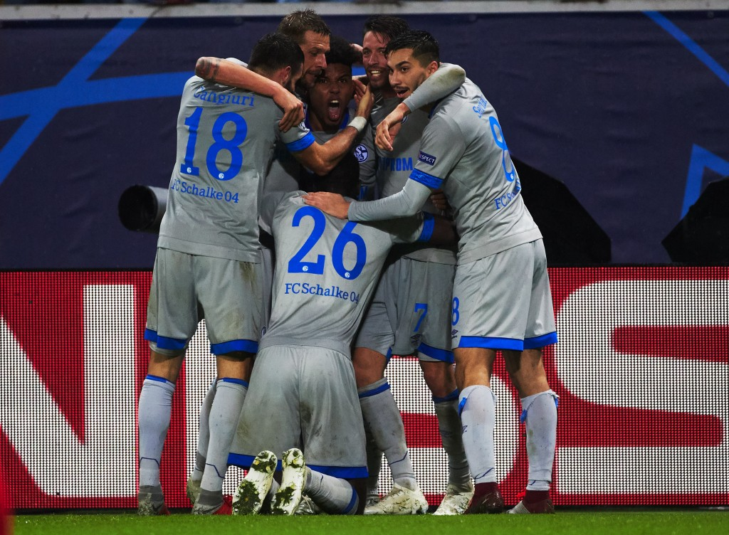 A rejuvenated Schalke will aim to oust Fortuna this weekend. (Photo by Oleg Nikishin/Bongarts/Getty Images)