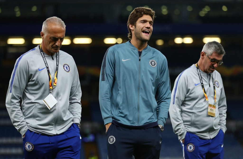 Happy to continue with Chelsea. (Photo by Bryn Lennon/Getty Images)