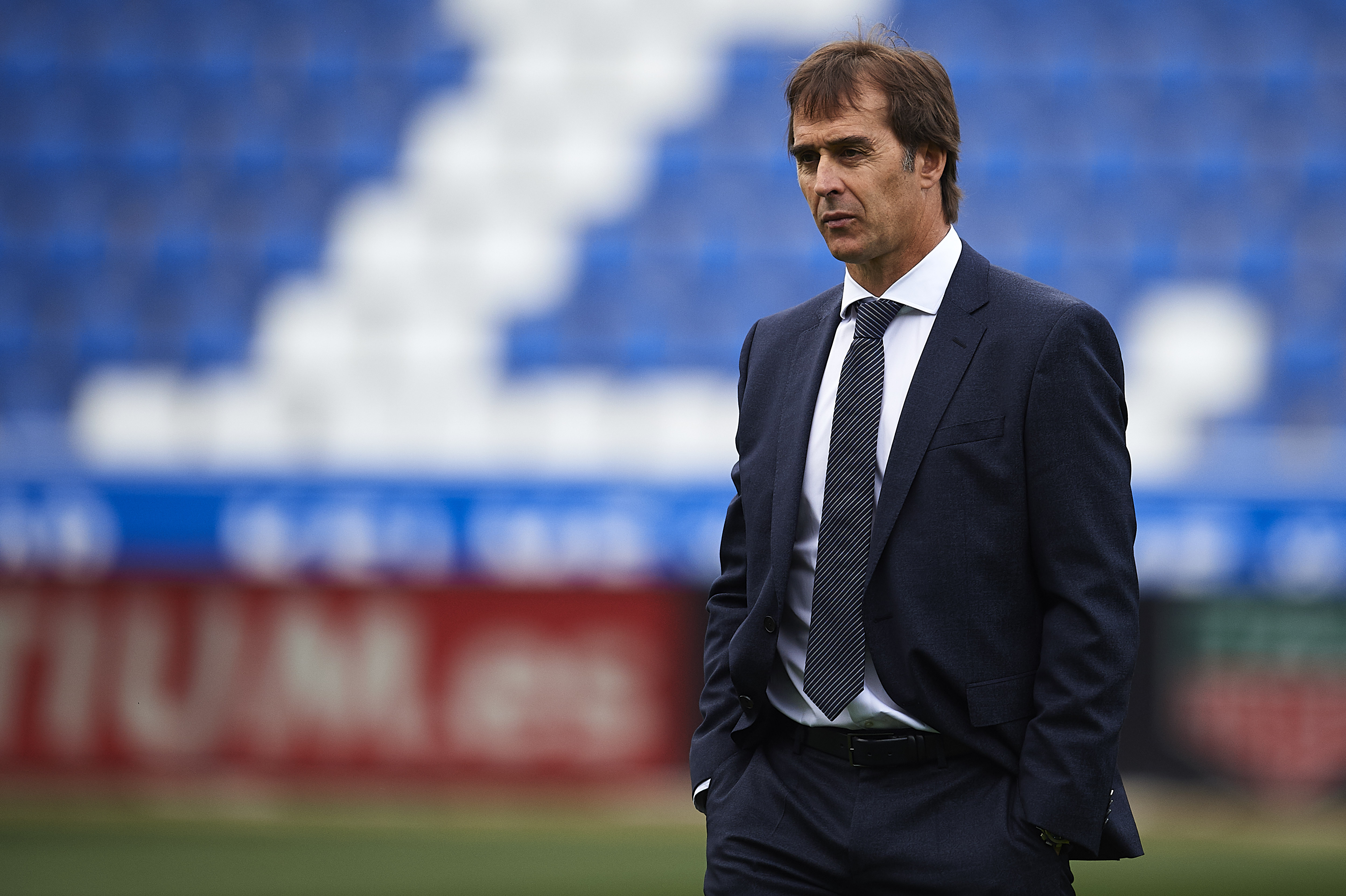 Julen Lopetegui has all his men available to him. (Photo by Juan Manuel Serrano Arce/Getty Images)