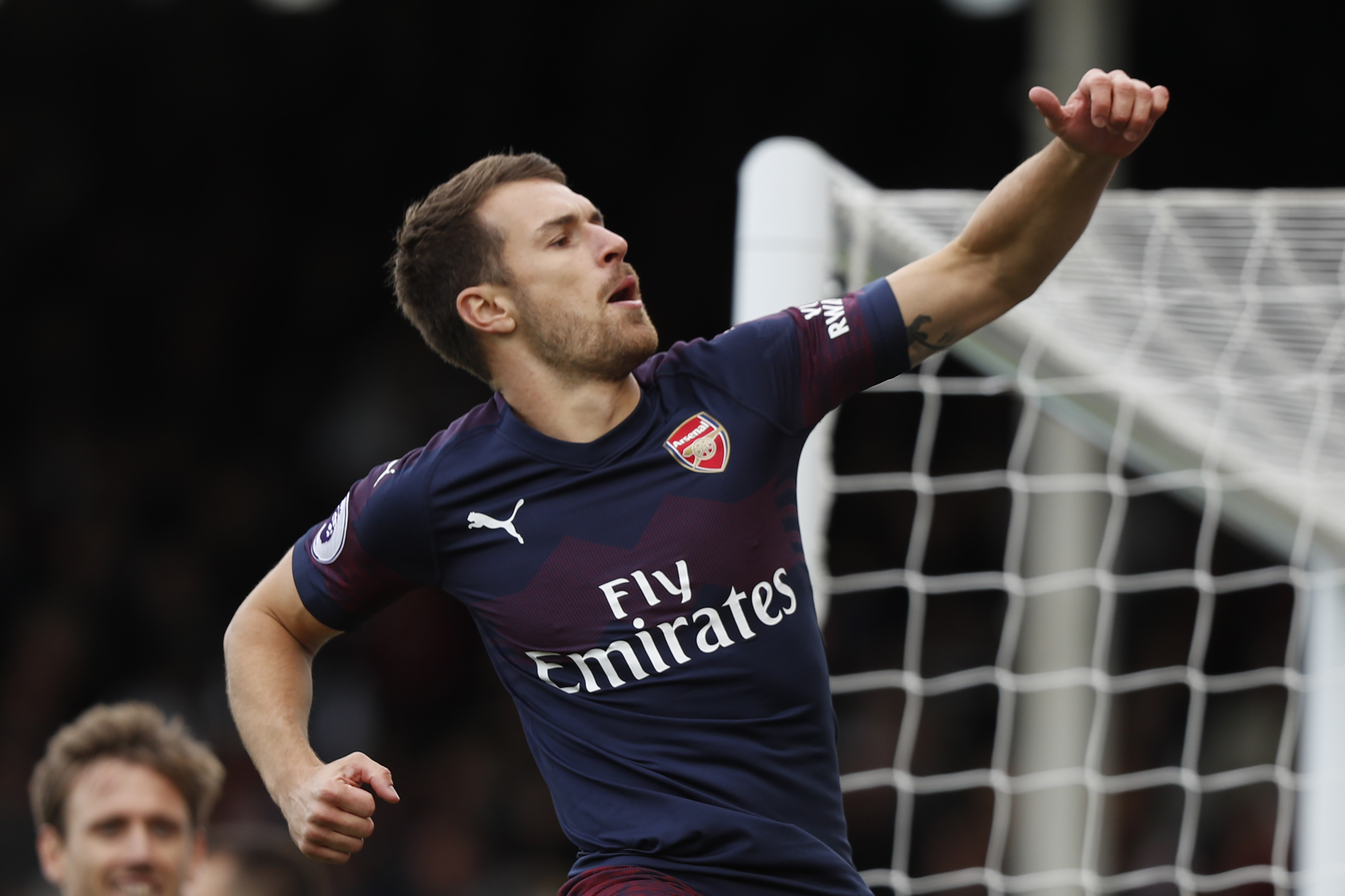 Ramsey could play from the start against Sporting CP. (Photo courtesy: AFP/Getty)