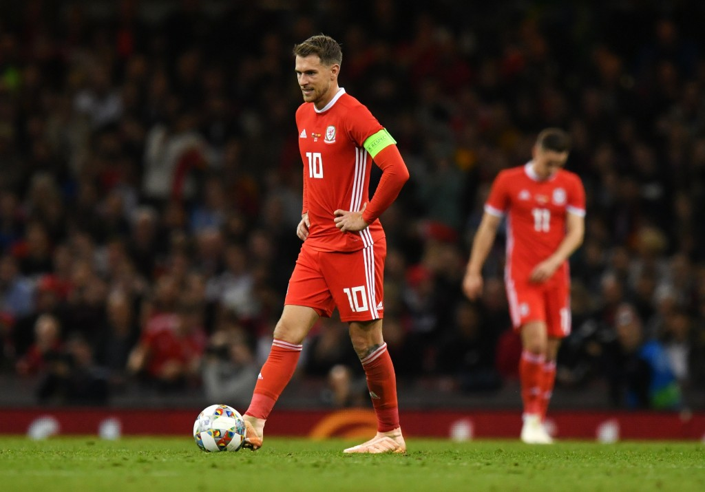 What does the future hold for Aaron Ramsey? (Photo by Dan Mullan/Getty Images)
