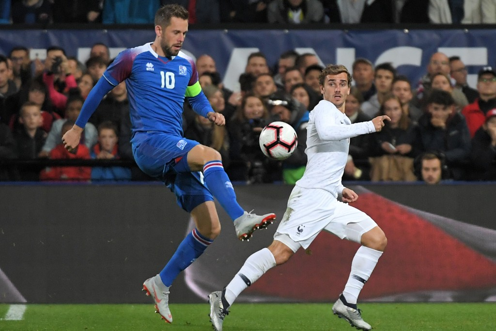 Iceland's hopes will be pinned on Sigurdsson (Photo by LOIC VENANCE/AFP/Getty Images)