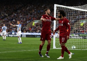 Huddersfield Town 0-1 Liverpool: Salah fires Reds to seventh Premier League victory [Best Tweets]