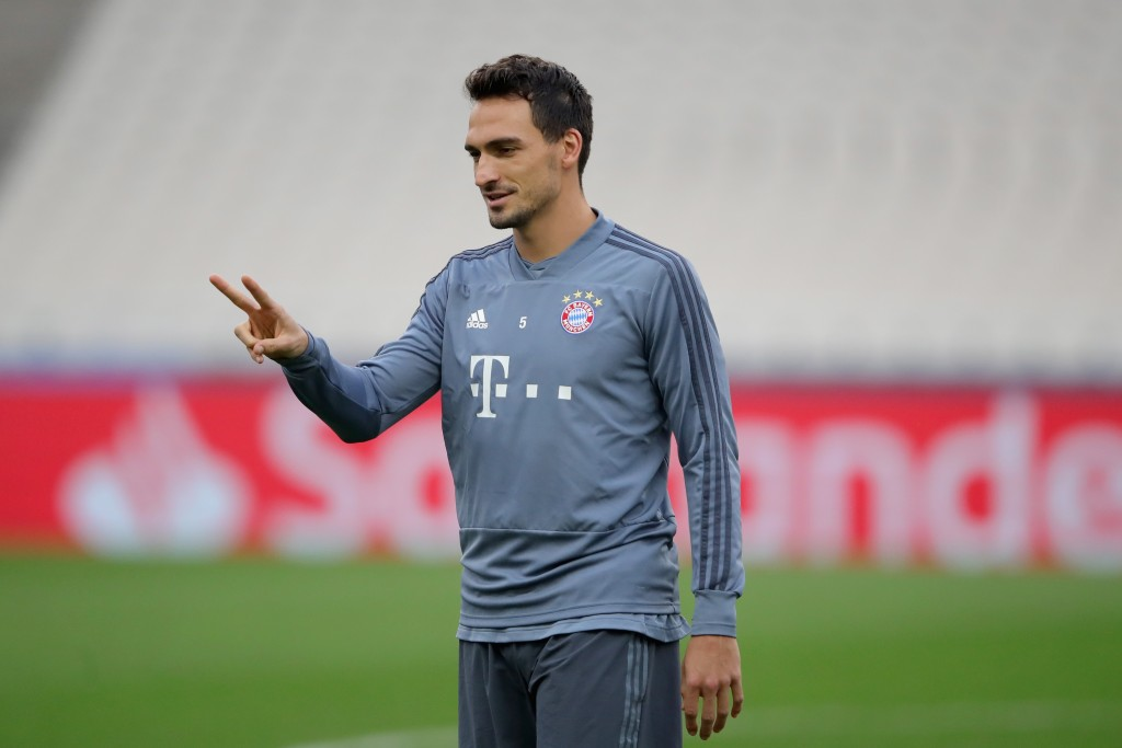 Hummels could be rested this weekend. (Photo by Alexander Hassenstein/Bongarts/Getty Images)