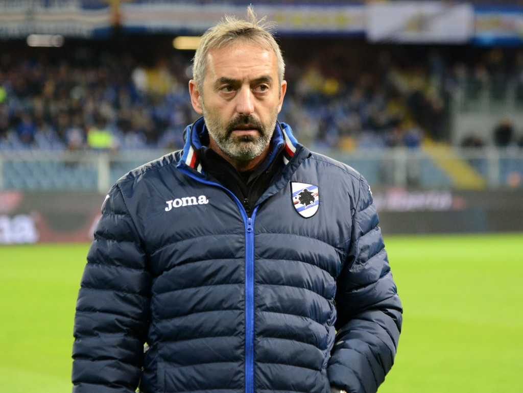 Can Marco Giampaolo mastermind yet another solid win against Milan this weekend? (Photo by Paolo Rattini/Getty Images)
