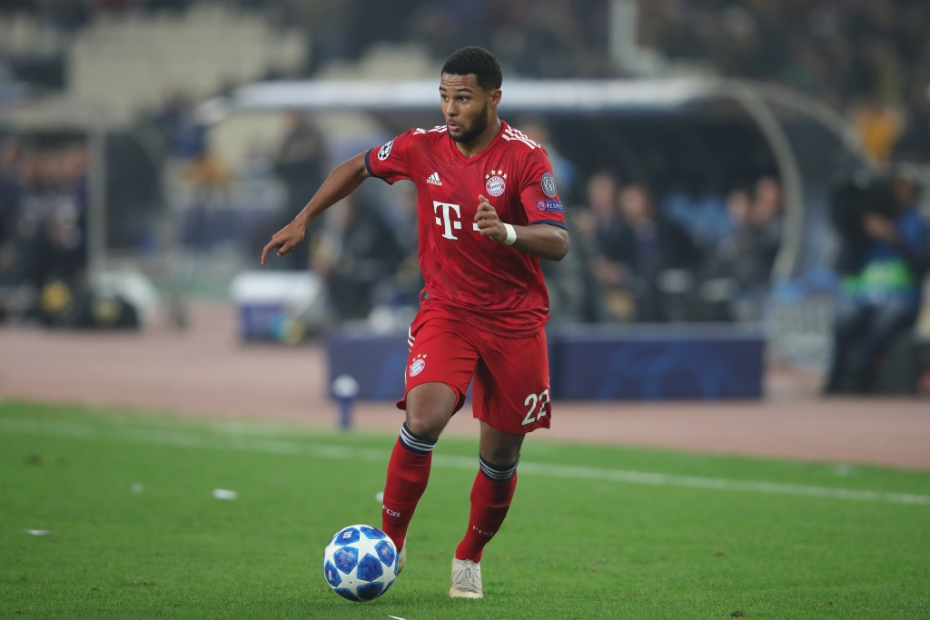 Time for Gnabry to shine! (Photo by Alexander Hassenstein/Bongarts/Getty Images)
