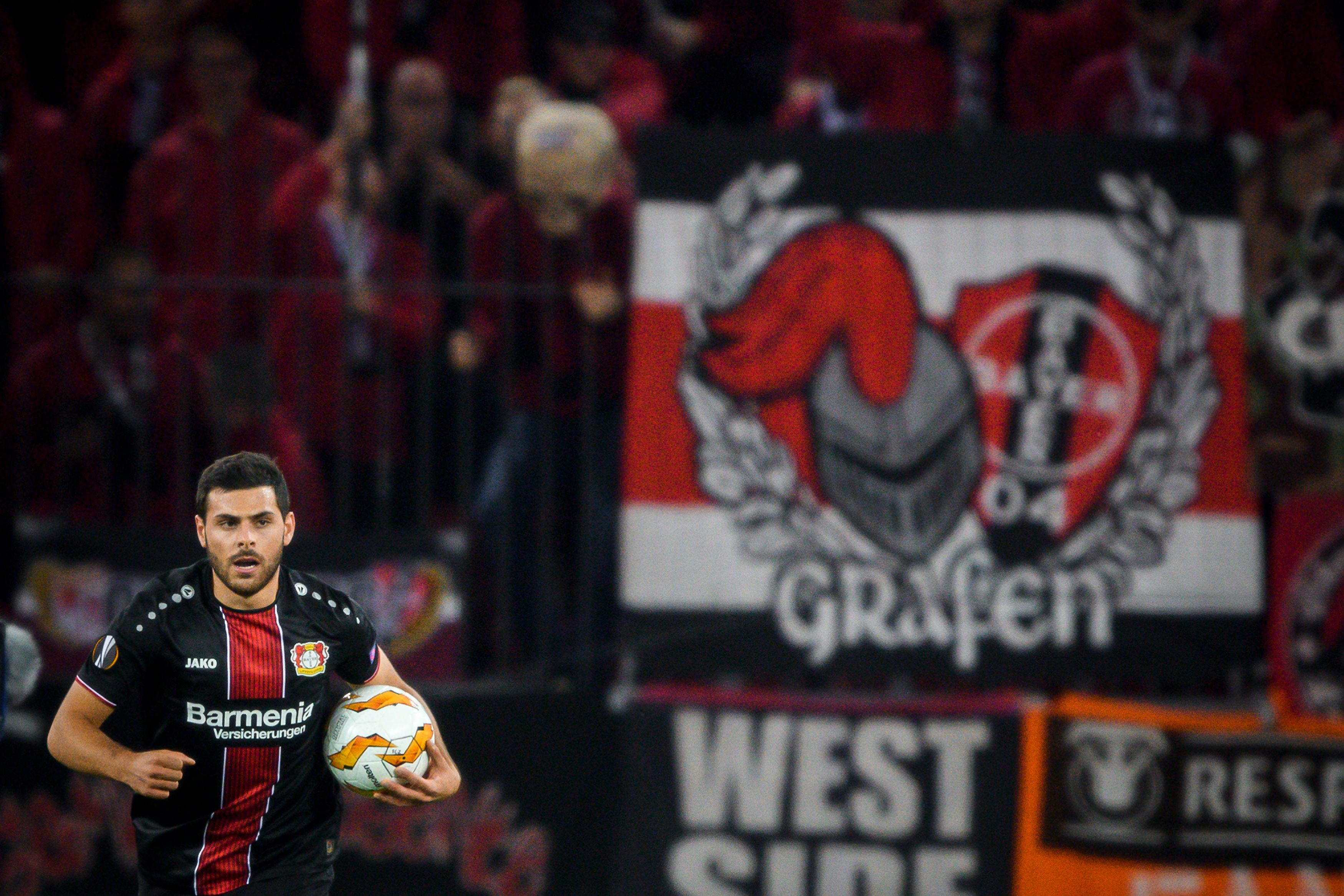 Kevin Volland will once again miss out for Leverkusen (Photo by FABRICE COFFRINI/AFP/Getty Images)