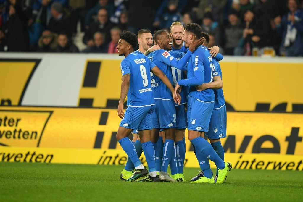 A dominant display from Hoffenheim. (Photo by Matthias Hangst/Bongarts/Getty Images)
