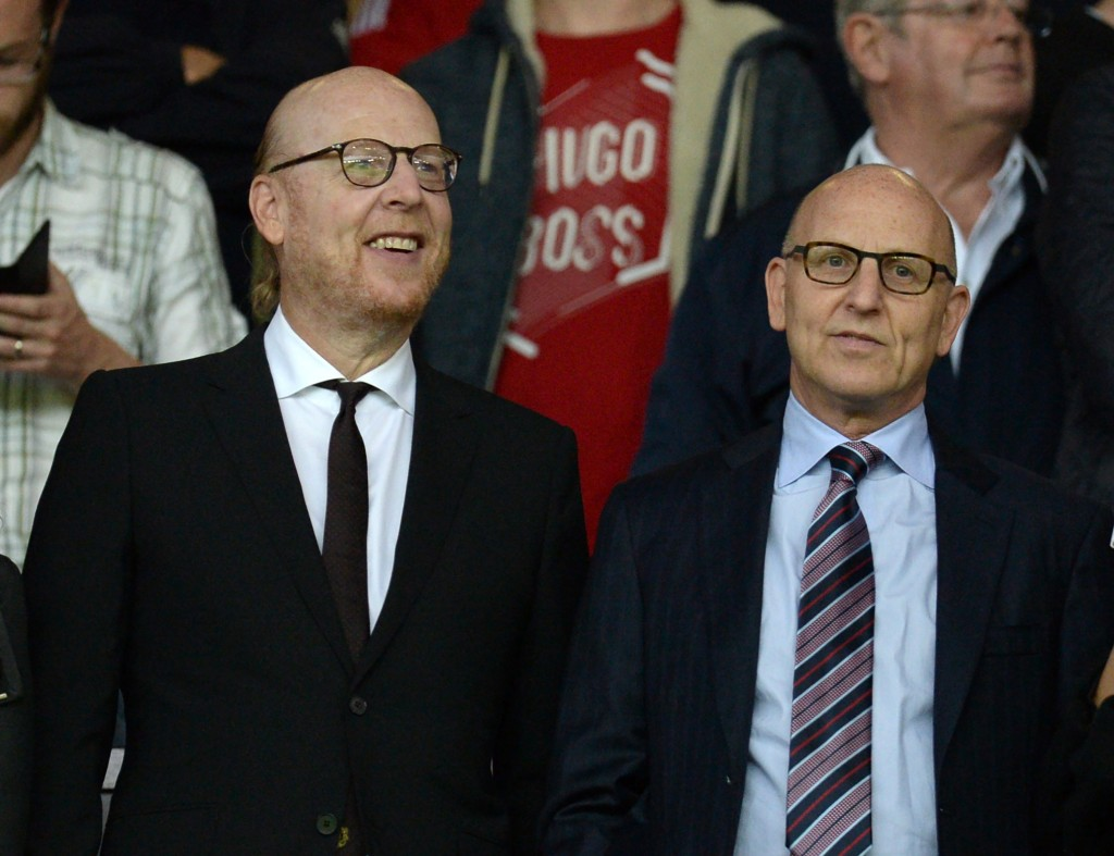 The Glazers (Photo by OLI SCARFF/AFP/Getty Images)