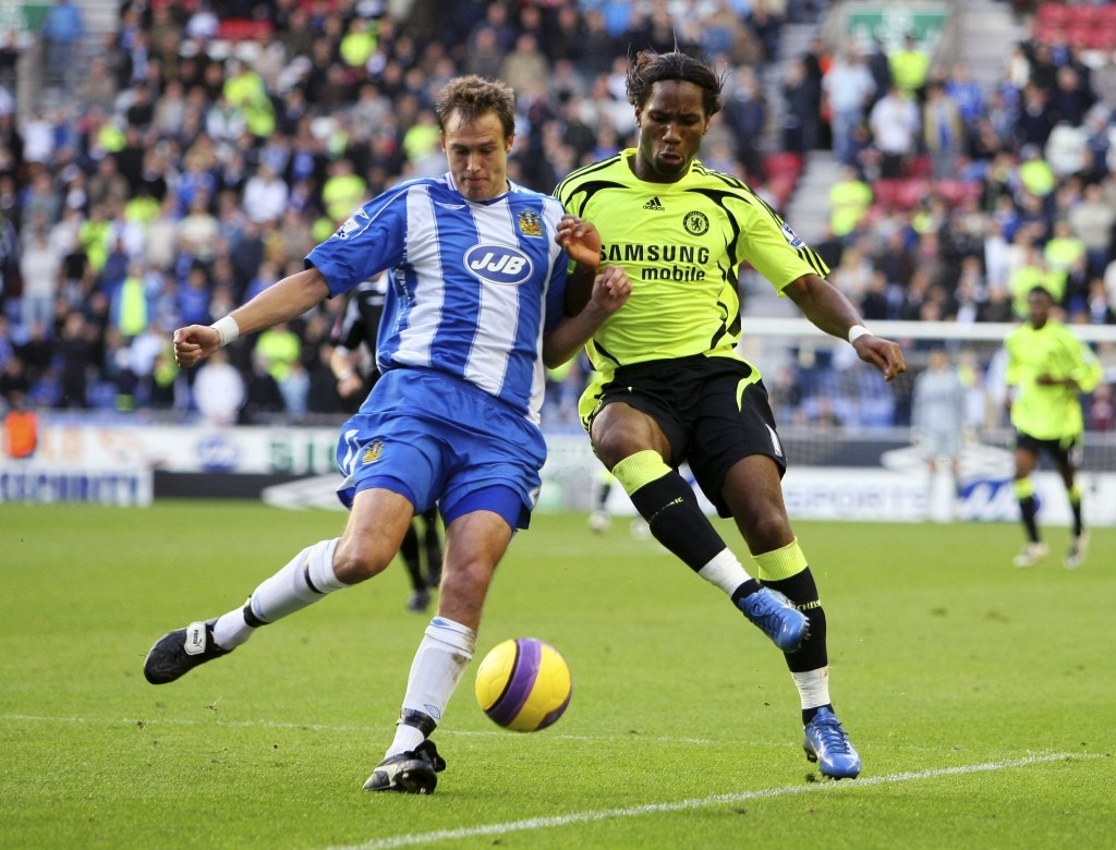Granqvist has previously played Premier League football with Wigan Athletic. (Photo by Clive Mason/Getty Images)