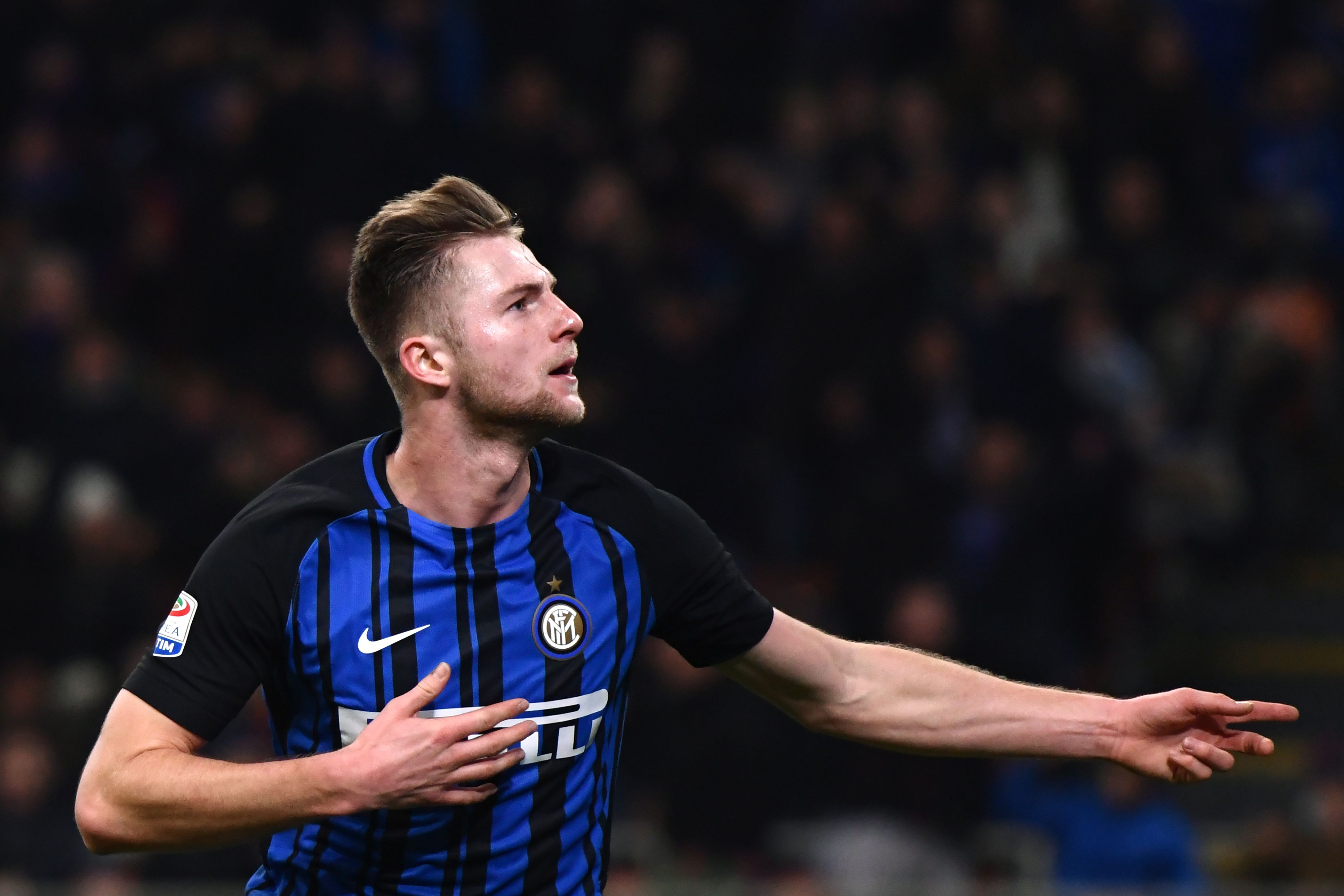 Skriniar wanted by Mourinho (Photo by MARCO BERTORELLO/AFP/Getty Images)