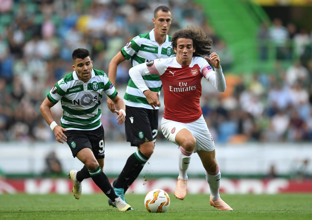 Guendouzi was named the man of the match against Sporting Lisbon. (Photo courtesy: AFP/Getty)