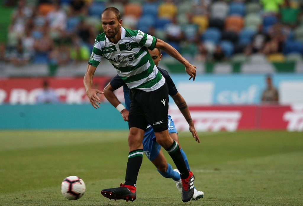 Bas Dost is a doubt for the Arsenal clash with a knock. (Photo courtesy: AFP/Getty)