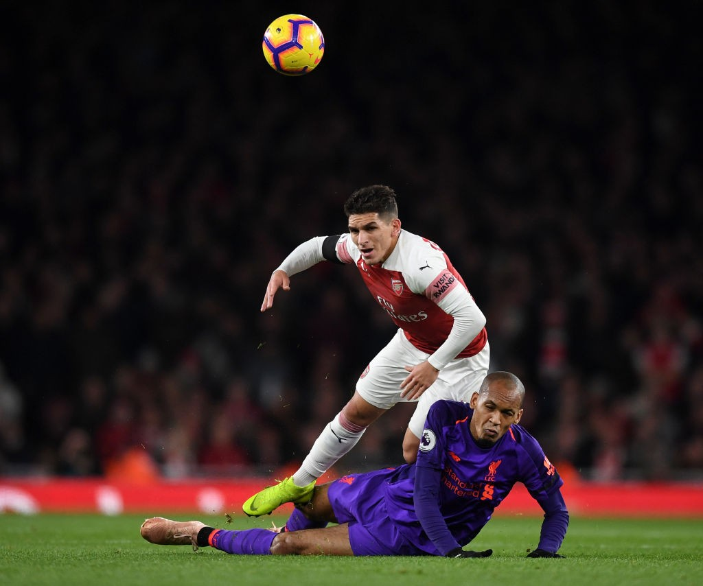 Lucas Torreira is beginning to stamp his authority as an influential midfielder in the Premier League. (Photo courtesy: AFP/Getty)