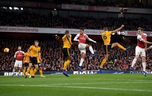 Arsenal Player Ratings vs Wolves: Aubameyang, Lacazette poor; Leno excellent on the day