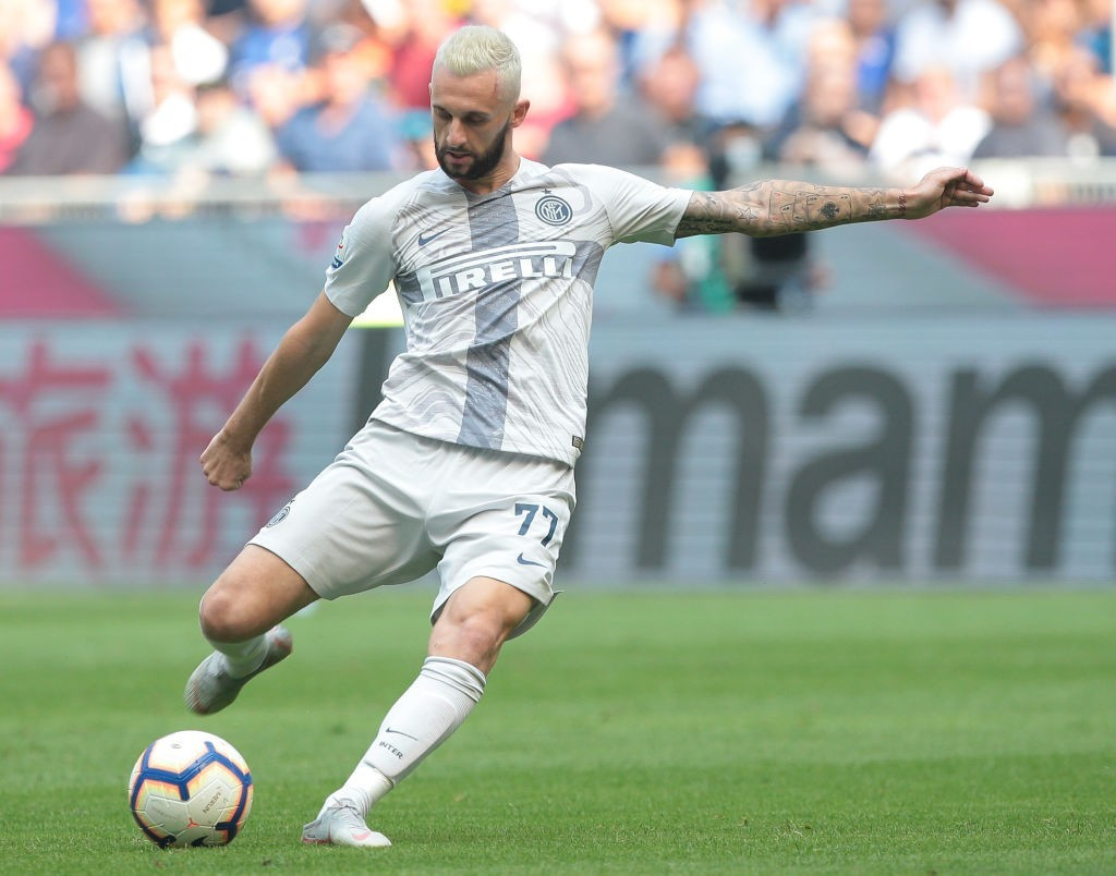 Real Madrid are keen on signing Marcelo Brozovic in the summer. (Photo by Emilio Andreoli/Getty Images)