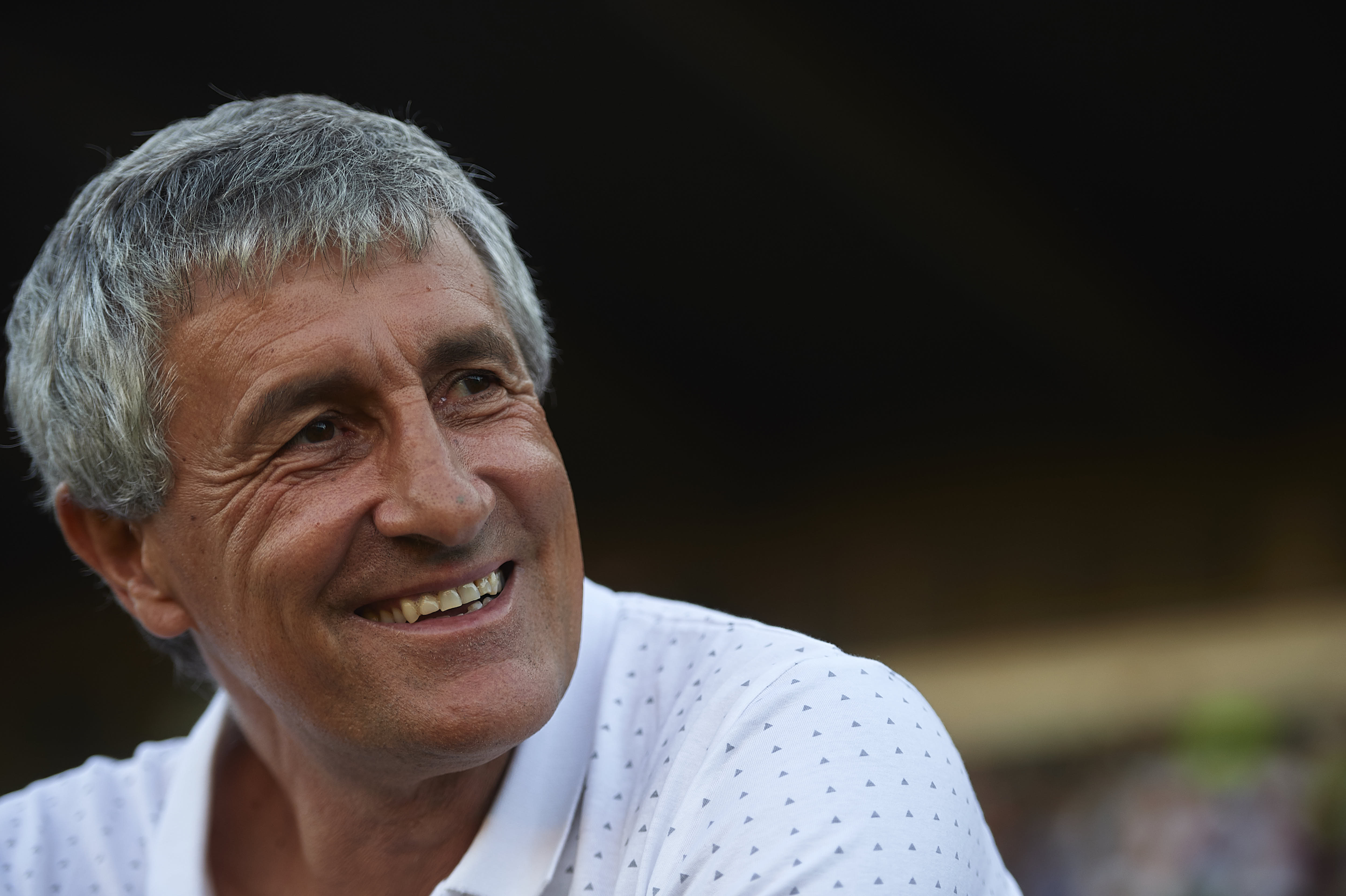 Setien's eye catching style of football is winning many admirers. (Photo by Aitor Alcalde/Getty Images)