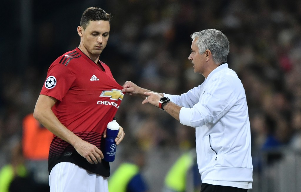 Matic is one of Mourinho's trusted sergeants. (Photo by Fabrice Coffrini/AFP/Getty Images)