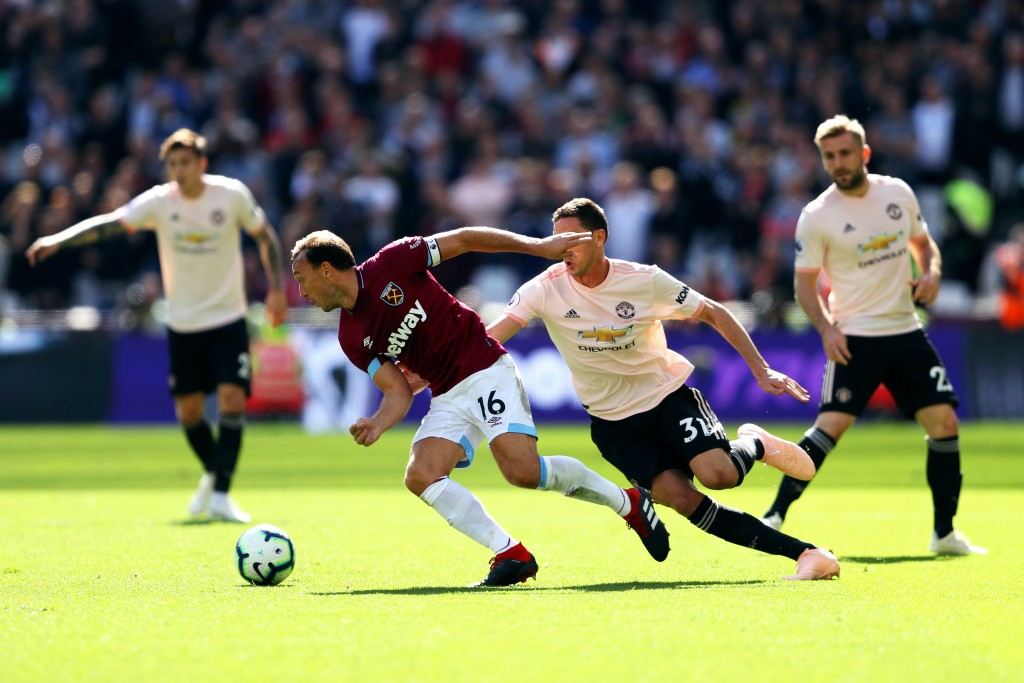 Mourinho sees Matic as the only one capable of providing cover to the likes of Victor Lindelof and Luke Shaw at the back. (Photo by Warren Little/Getty Images)