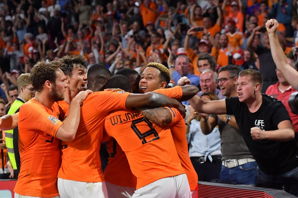 Netherlands are on the rise. (Photo by Emmanuel Dunand/AFP/Getty Images)