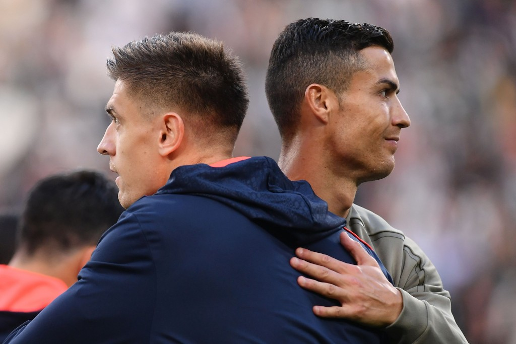 Could Piatek be on his way to Ronaldo's old stomping ground? (Photo by Marco Bertorello/AFP/Getty Images)