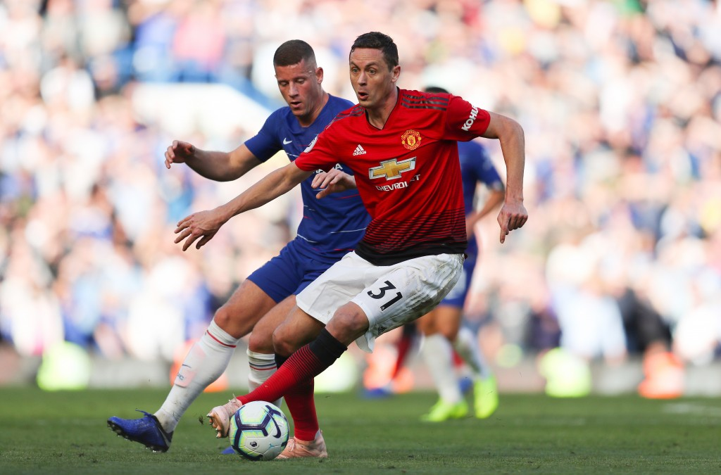 On the ball, Matic isn't better either. (Photo by Catherine Ivill/Getty Images)