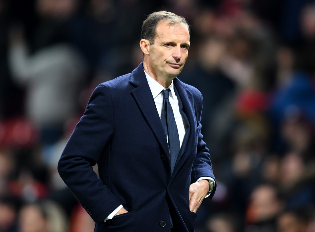 Allegri will ring in the changes this weekend (Photo by Michael Regan/Getty Images)