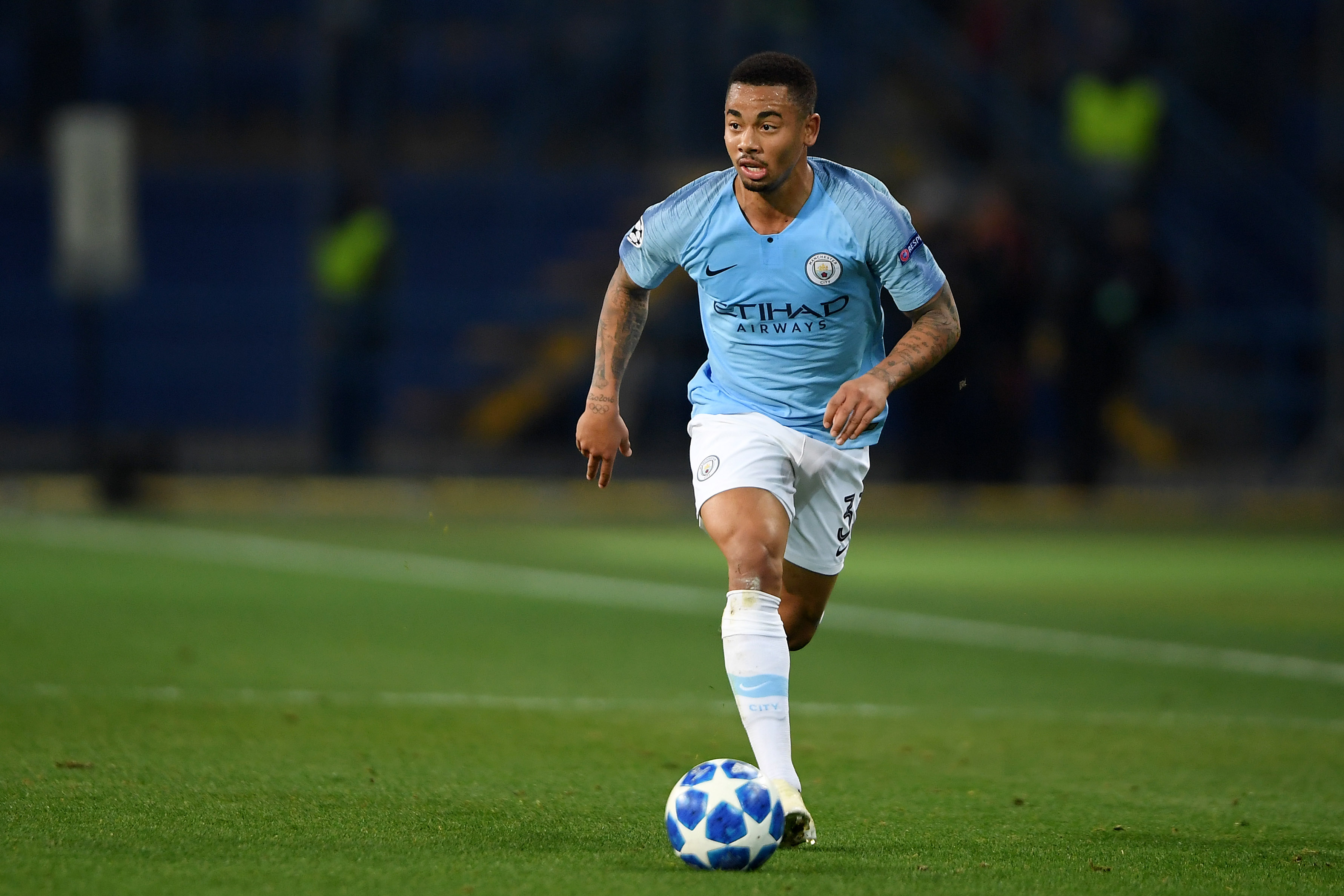 A chance to shine for Gabriel Jesus. (Photo courtesy: AFP/Getty)