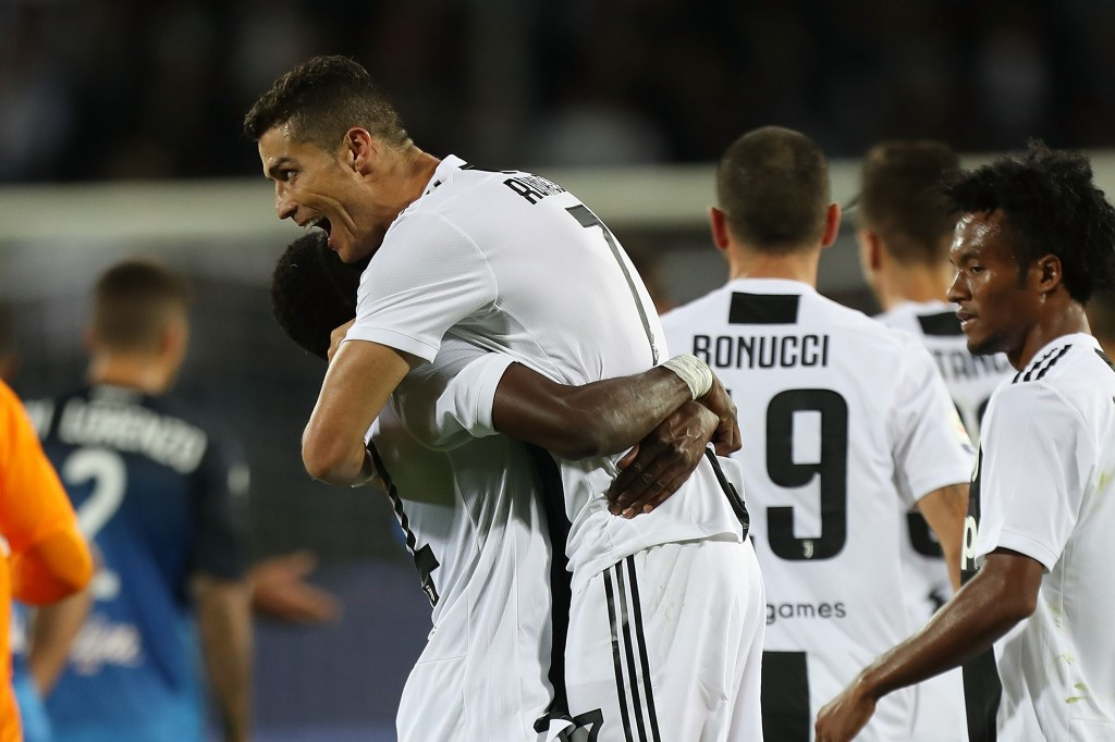 Cristiano Ronaldo is slowly building his reputation at Juventus. (Photo by Gabriele Maltinti/Getty Images)