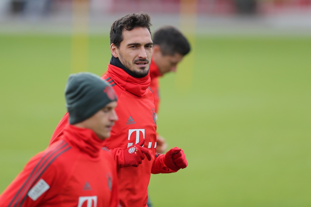 Mats Hummels and Joshua Kimmich will both return in defence. (Photo by Christian Kaspar-Bartke/Bongarts/Getty Images)