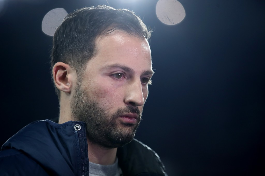 Domenico Tedesco will be aiming for a win against Hannover. (Photo by Alex Grimm/Bongarts/Getty Images)