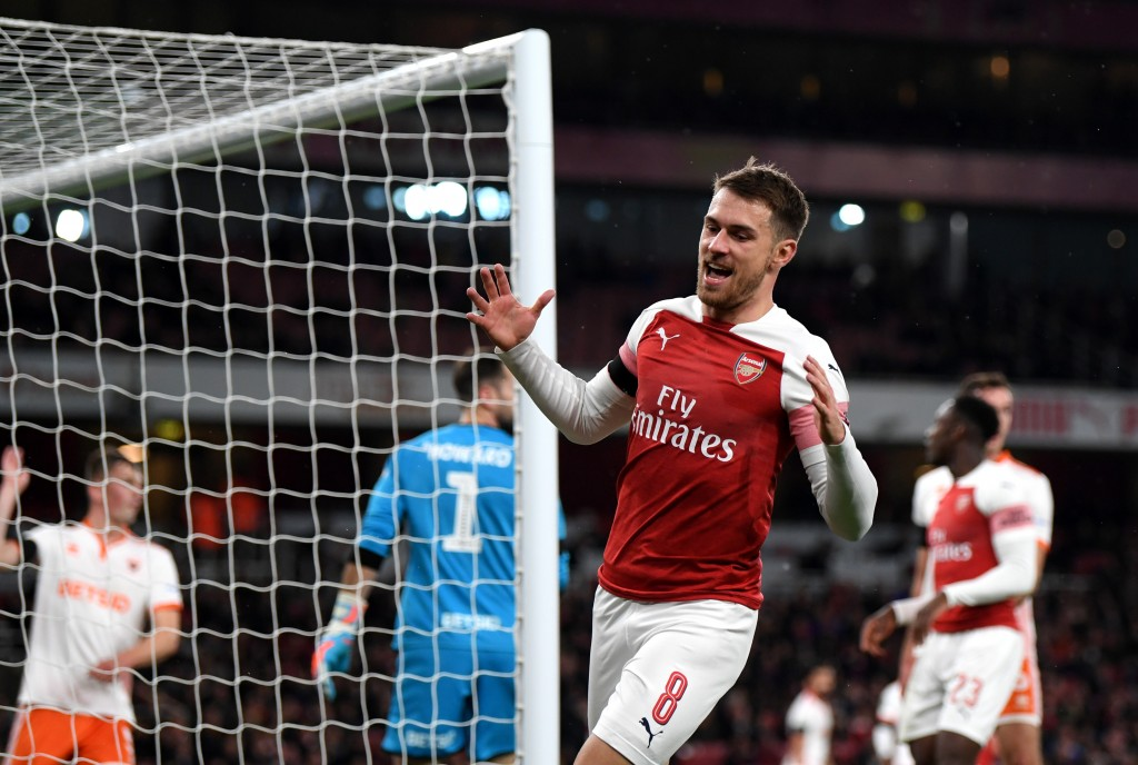 Arsenal's main concern is to replace Aaron Ramsey, who will likely leave the club. (Photo by Shaun Botterill/Getty Images)
