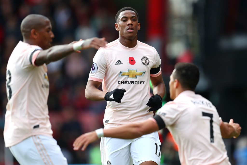 Martial stars again for United (Photo by Catherine Ivill/Getty Images)