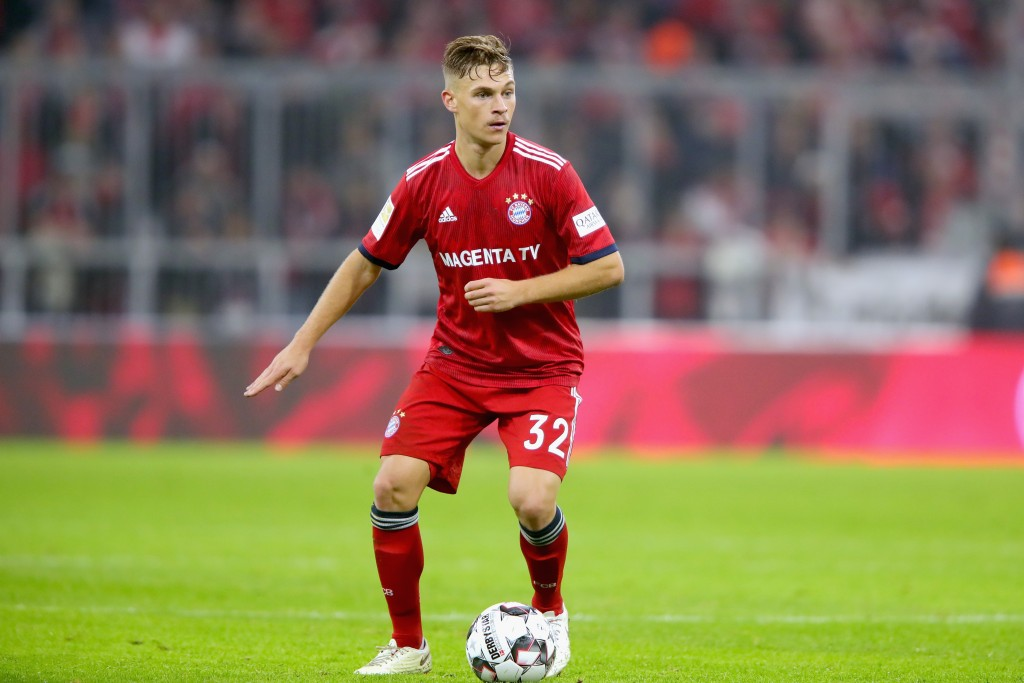 Kimmich should be reverted back to his customary right back position. (Photo by Alexander Hassenstein/Bongarts/Getty Images)