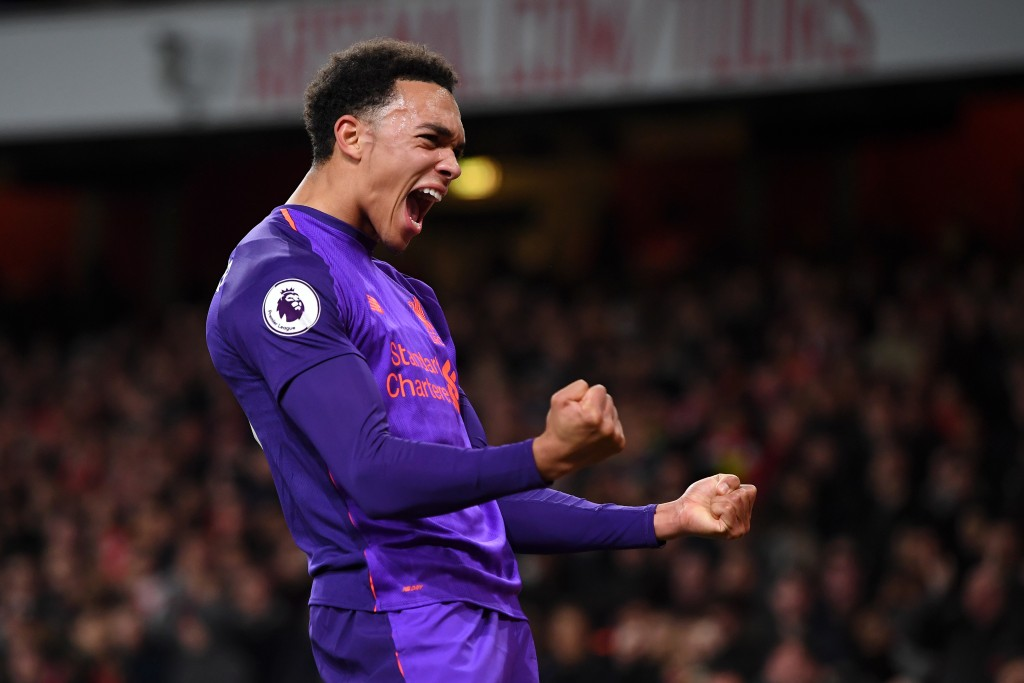 Trent? More like a train! (Picture Courtesy - AFP/Getty Images)