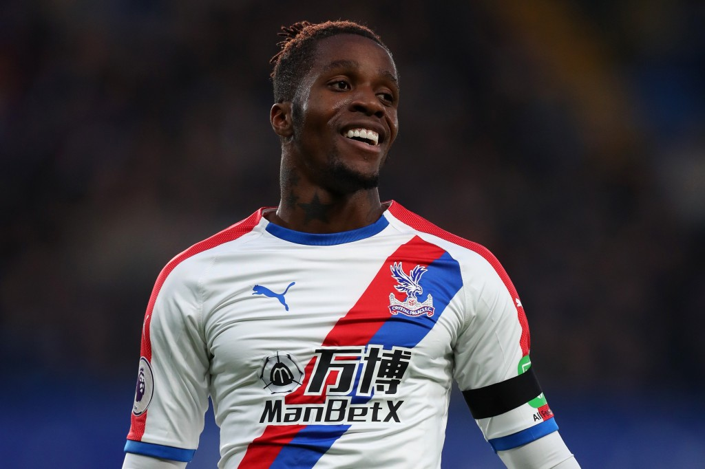 Can Zaha inflict some damage to his former employers? (Photo by Catherine Ivill/Getty Images)