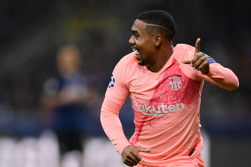 After fulfilling his dream, will Malcom cement his place in the starting lineup? (Photo by Marco Bertorello/AFP/Getty Images)