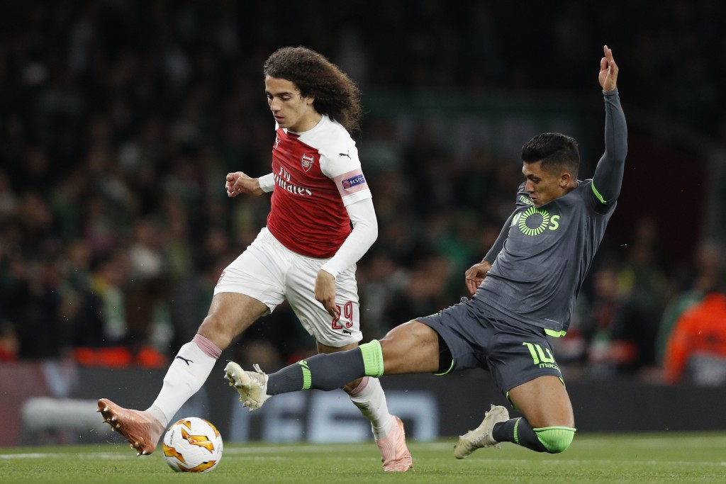 Guendouzi shines again (Photo by ADRIAN DENNIS/AFP/Getty Images)