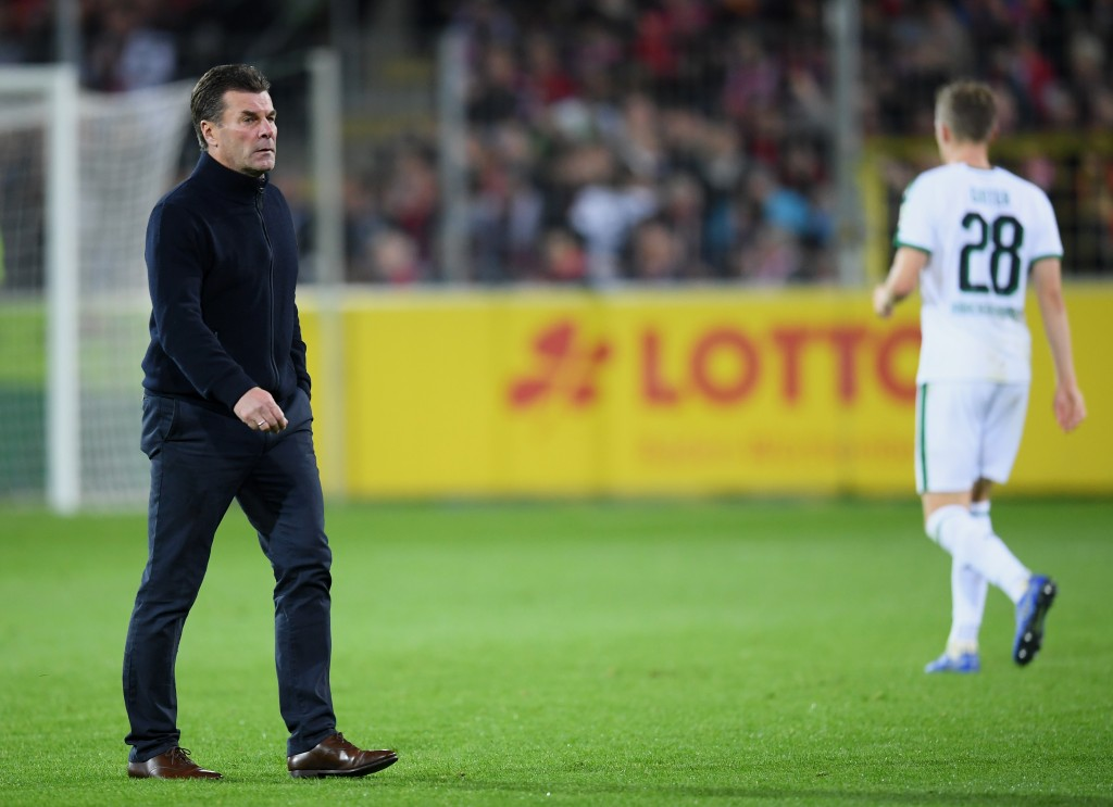 Can Dieter Hecking guide his into winning ways once again? (Photo by Matthias Hangst/Bongarts/Getty Images)