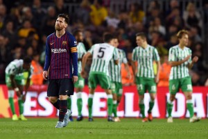 Barcelona 3-4 Real Betis: Valverde's men disappoint in narrow defeat [Tweets]