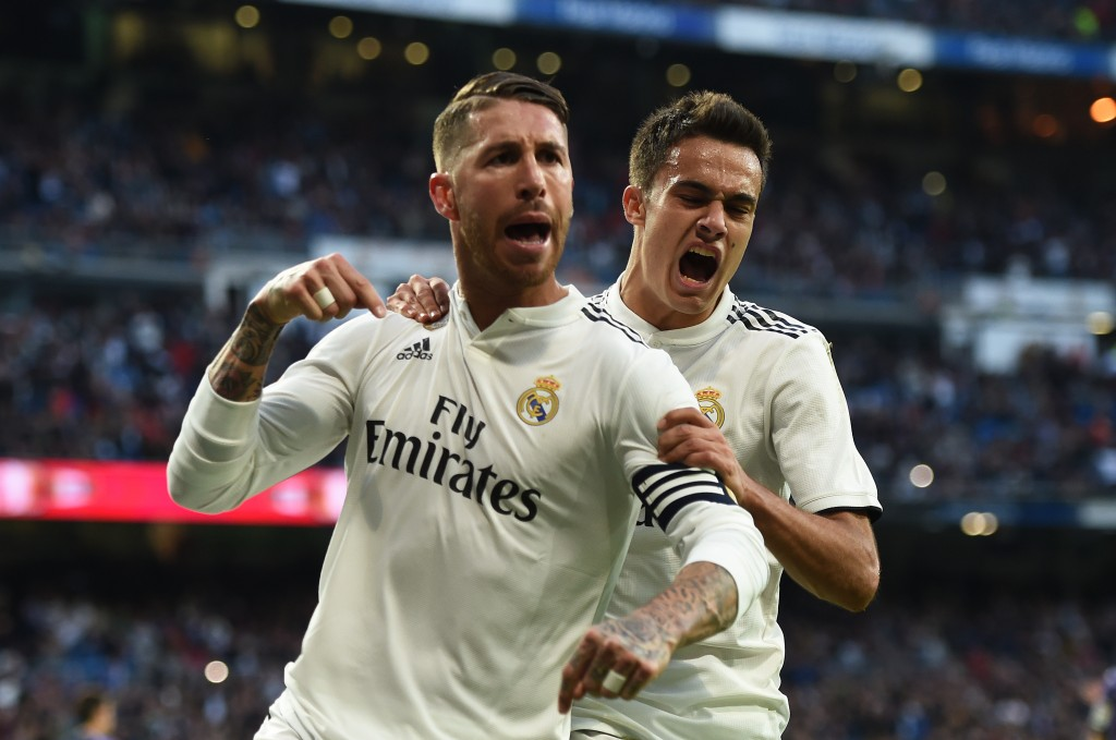 Ramos and Reguilon impress for Madrid (Photo by Denis Doyle/Getty Images)
