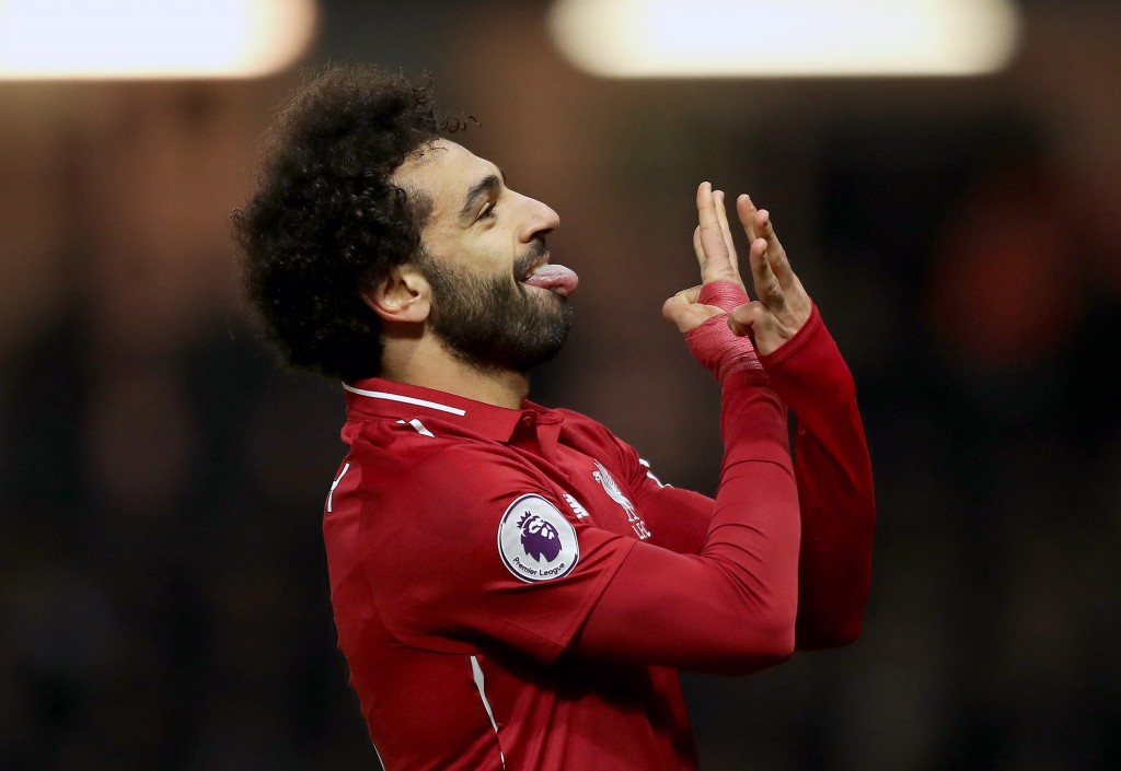 Salah opened the scoring for Liverpool (Photo by Richard Heathcote/Getty Images)