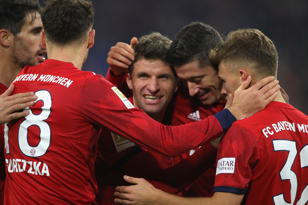 Muller was the lone bright spot for Bayern. (Photo by Alexander Hassenstein/Bongarts/Getty Images)