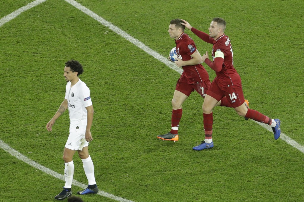 A consolation goal, but the captain and his deputy were horrendous on Wednesday. (Photo by Geoffroy van der Hasselt/AFP/Getty Images)